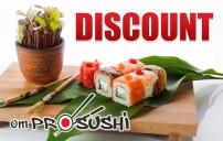 DISCOUNT Pro-Sushi